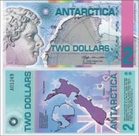 Antarctica - 2 Dollars 2014 UNC Ukr-OP - Banknotes