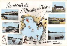 89-SAINT MARTIN DU TERTRE-N°154-D/0187 - Saint Martin Du Tertre