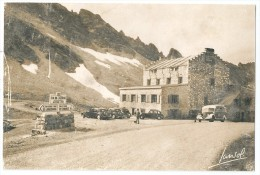 Cpa: 73 Sommet Du COL DE L'ISERAN, Chalet Hôtel (Traction, Autocar) 1946 N° 2005 - Frankreich