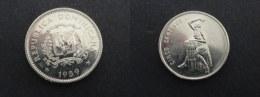 1989 - 5 CENTAVOS REPUBLIQUE DOMINICAINE - Dominicana