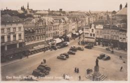 's Hertogenbosch   Den Bosch   Markt Met Standbeeld Jeroen Bosch  Hotel Central , Hotel Noord Brabant Bonthandel  Nr 671 - 's-Hertogenbosch