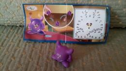 Monobloc Kinder Surprise - Monstre Violet UN033 Avec Bpz - Monoblocs