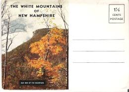 Souvenir Folder of the White Mountains of New Hampshire