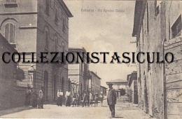 3-4046- Follonica - Via Agostino Bertani - Grosseto - F.p. Viaggiata 1919 - Grosseto