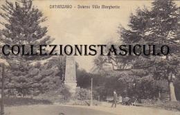 3-4047- Catanzaro Interno Villa Margherita - F.p. Viaggiata 1915 - Catanzaro