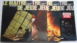 MAITRE DE JEU ( LE ) Lot Des Tomes 1 3 4 Et 6 EO Par Corbeyran Charlet Horn - Books, Magazines, Comics