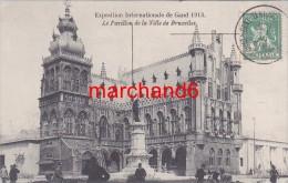 Belgique Gent Gand Le Pavillon De La Ville De Bruxelles Exposition Internationale De 1913 - Gent