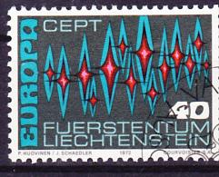Liechtenstein - Europa (MiNr: 564) 1972 - Gest. Used Obl. - Europa-CEPT