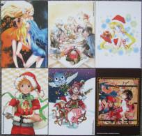 Lot De 6 Cartes De Voeux PIKA 2015 - Mangas