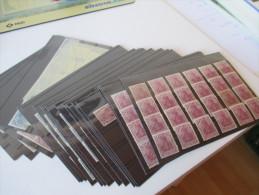 Germania Rollenmarken riesiger Posten Rollenmarken Typ I Katalogwert 5500� **Einheiten, 5er Streifen usw! Toller Posten!