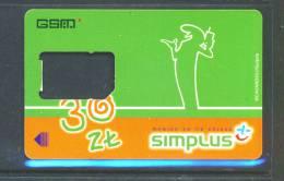 POLAND  -  SIM Frame Phonecard As Scan - Poland