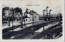 Gembloux - Gare Intérieure - Signaux à Palettes - Gembloux