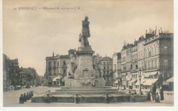 27 - BORDEAUX - Monument Gambetta - (Animée) - Bordeaux