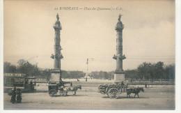 BORDEAUX - Place Des Quinconces - (Animée) - Bordeaux
