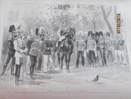 1903 Armée Prussienne   Militaire En Prussie  Regiment D Alexandre   Grenadier   Russie  Russe  Guillaume II - Sin Clasificación