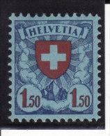 Suisse 1924-27 - N° 210 - Neuf * - Très Beau - Trace De Charnière Très Légère (2 Scans) - Suisse