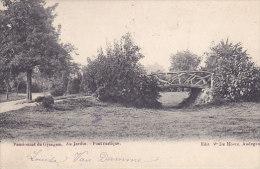 Pensionnat De Gysegem - Au Jardin - Pont Rustique (Edit. V De Hovre, Précurseur) - Aalst