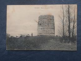 Tourny  Moulin De Pierre - Animée  -Boeufs - Ed. AL - Circulée 190? - L184 - Other Municipalities