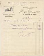 Charente Inférieure, Courpignac Par Soubran, R. Turounet Menuiserie ébénisterie 1931 - France