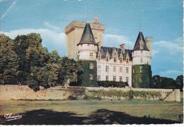 Francia--Le Chateau D'Azat-Le .Riz--1957--Cachet- ST.Junien-Hte.Vienne-a, Mauzoy - Castillos