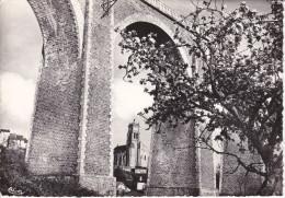Francia--Bellac--1966--Le Viaduc Et L'Eglise Dans Le Lontain--Cachet-Bellac--a, Paris - Bellac