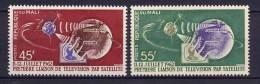 Mali 1963 Space Telstar Set Of 2 MNH - Space