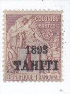 Tahiti N 21, Neuf Charnière, Signé Muler - Tahiti (1882-1915)