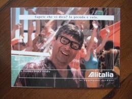 Alitalia Airlines Carte Postale - 1946-....: Moderne