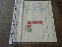 Facture Materiaux De Construction VICTOR Vermeulen(Forges) Du 15/12/1937 - Belgium