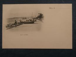 Nice  Quai Du Midi - Barques De Pecheurs - Animée - Ed. TB 33 - L184 - Vita E Città Del Vecchio Nizza