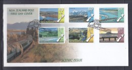 New Zealand 1997 Scenic Issue FDC - FDC