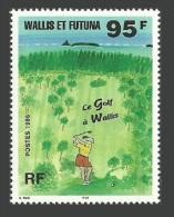 WALLIS FUTUNA 1995 GOLF SPORT GOLFING ON WALLIS SET MNH - Unused Stamps