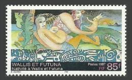 WALLIS FUTUNA 1997 CHRISTMAS NATIVITY MARINE LIFE FISH SET MNH - Unused Stamps