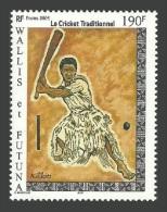 WALLIS FUTUNA 2005 SPORT TRADITIONAL CRICKET SET MNH - Wallis And Futuna