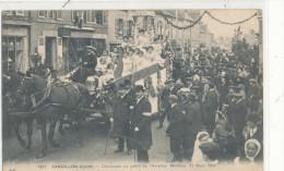 SANDILLON  Cavalcade Au Profit De L'Aviation Militaire 1912 Char, Animée - France