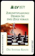 Schaken Schach Chess Ajedrez échecs - Telefoonkaart Duitsland - Giochi