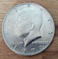 USA, 1/2 Dollar 1972, Silber, Fast Unzirkuliert - Federal Issues