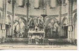 CHAVAGNES EN PAILLERS - Chapelle Du Sacré Coeur - L'intérieur - Autres Communes