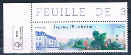 France 2013 - Réf. 4744 - Rixheim (Haut Rhin) - Coin De Feuille - Neuf** - France