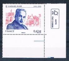 France 2013 - Réf. 4724 - Raphaël Elizé - Coin De Feuille - Neuf** - France