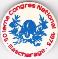 Bascharage - 50 Ième Congrès National ( Sapeurs Pompiers ) - 1973 - Luxembourg