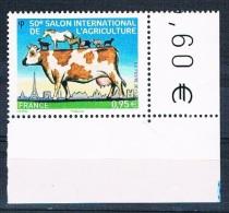 France 2013 - Réf. 4729 - 50e Salon International De L'Agriculture - Coin De Feuille - Neuf** - France