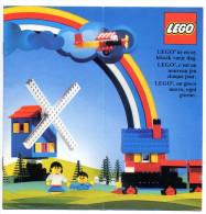 LEGO SYSTEM  1975 LEGOLAND En 3 LANGUES Dépliant  16 Pages Constructions Et Accessoires Pièces / Voir SCAN PHOTOS - Catalogs