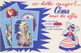 Ces Belles Images !....Céma Vous Les Offre - Buvards, Protège-cahiers Illustrés