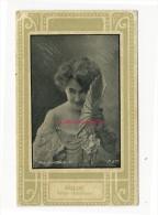Image-célébrités Fin XIXe-artiste Femme-photographie De DULUC-comédienne Dramatique - Vieux Papiers
