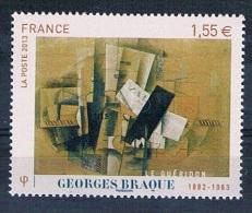 France 2013 - Réf. 4801 - Georges Braque - Le Guéridon - Issu Du Bloc Feuillet - Neuf** - France