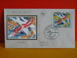 FDC - Édouard Pignon, Les Plongeurs - Paris - 3.10.1981 - 1er Jour, Coté 3 € - FDC