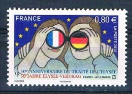 France 2013 - 50e Anniversaire Du Traité De L'Elysée - France Allemagne - Neuf** - France