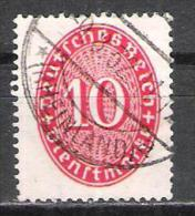 Reich Service N° 88 Oblitéré Vermillon - Service
