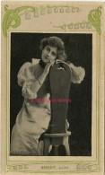 Image-célébrités Fin XIXe-artiste Femme-photographie De Henriot- Comédienne - Vieux Papiers